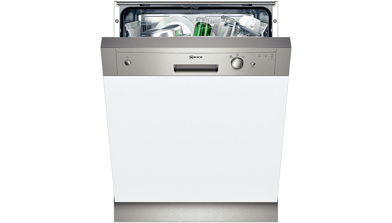 Neff S41D30N2EU Semi-incorporado A+ Acero inoxidable, Color blanco ...