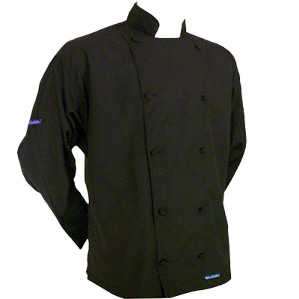 Chefskinブラック軽量シェフジャケットのlong-sleeves赤ちゃん/幼児用サイズ軽量   B077BGRG1M