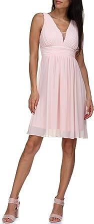 Leader Mode Robe De Soiree 8089 Nude Couleur Rose Taille S Amazon Fr Vetements Et Accessoires
