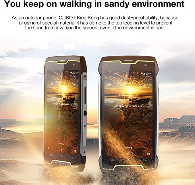 CUBOT Kingkong Smartphone IP68 Waterproof a Prueba de Polvo a ...