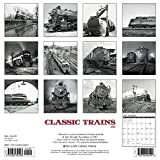 Classic Trains 2018 Wall Calendar