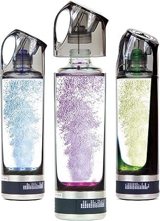 DETOX Botella portátil Recargable de Agua hidrogenada con ...