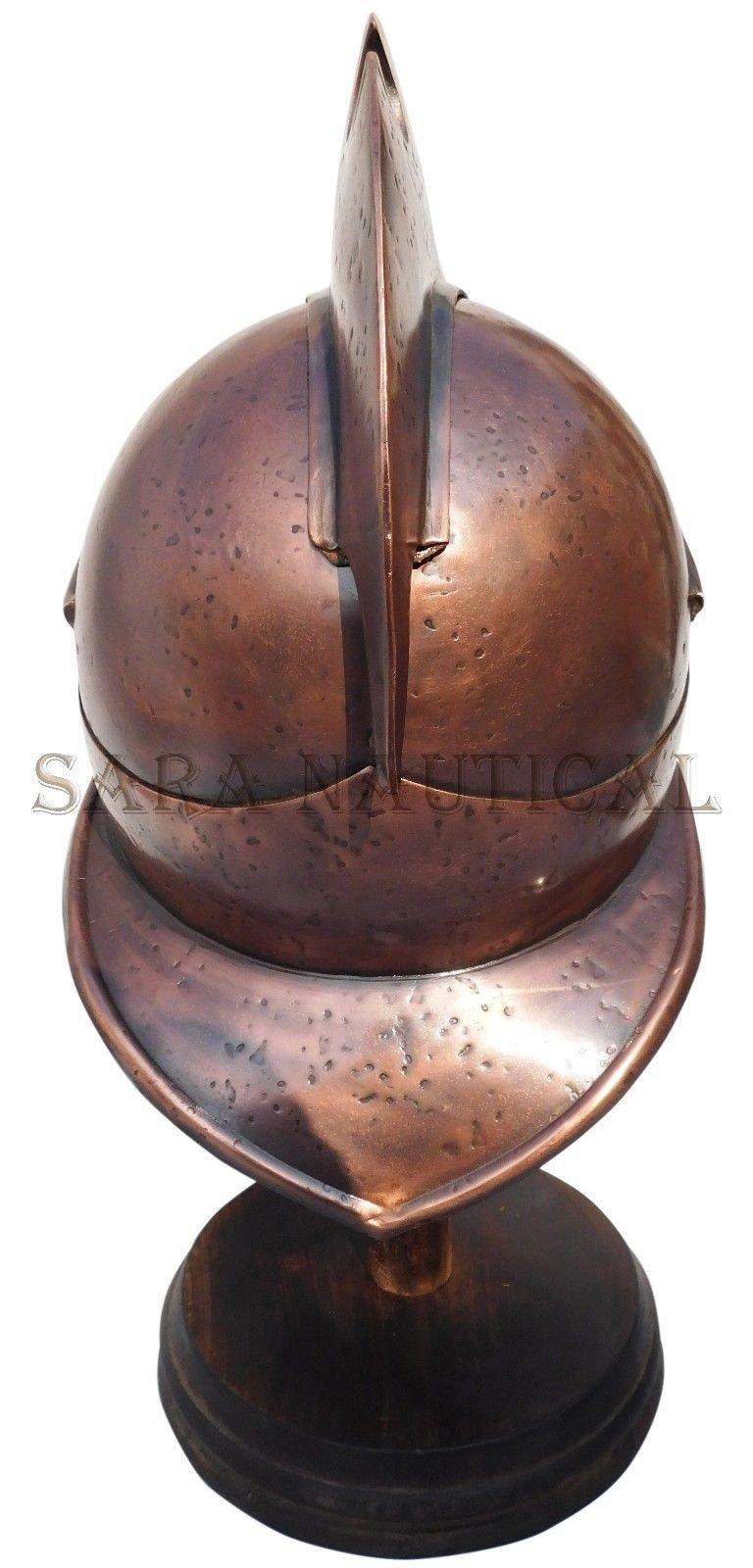 All Metal 300 Spartan Helmet Metal Collectible Decorative Antique Item Halloween Helmet by Expressions Enterprises (Image #4)