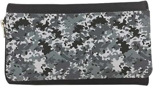 محفظة مصنوعة من الجلد بتصميم لباس الجيش