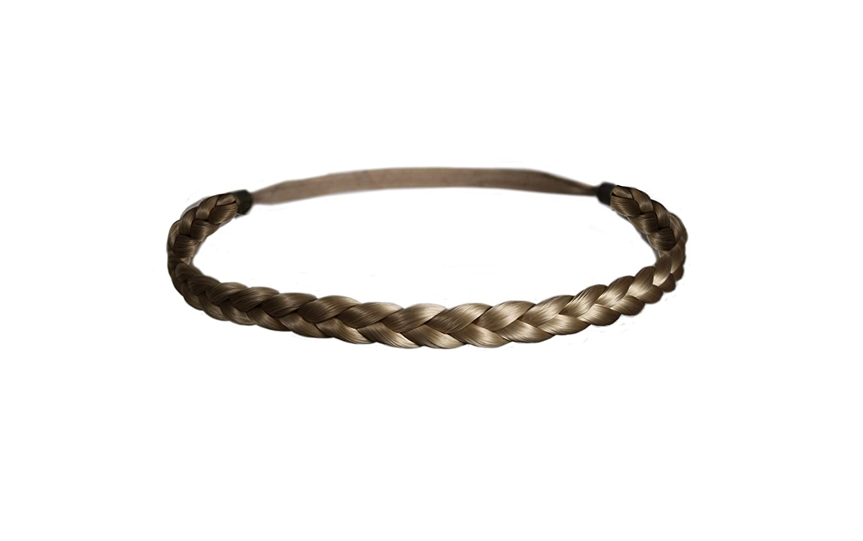 Bohemian Wig Braid Natural Hair Thick Headband Wide Plait Boho Fashion Hairpiece