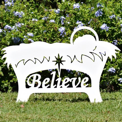 Teak Isle Believe Holy Family Outdoor Nativity Set 202632-30078