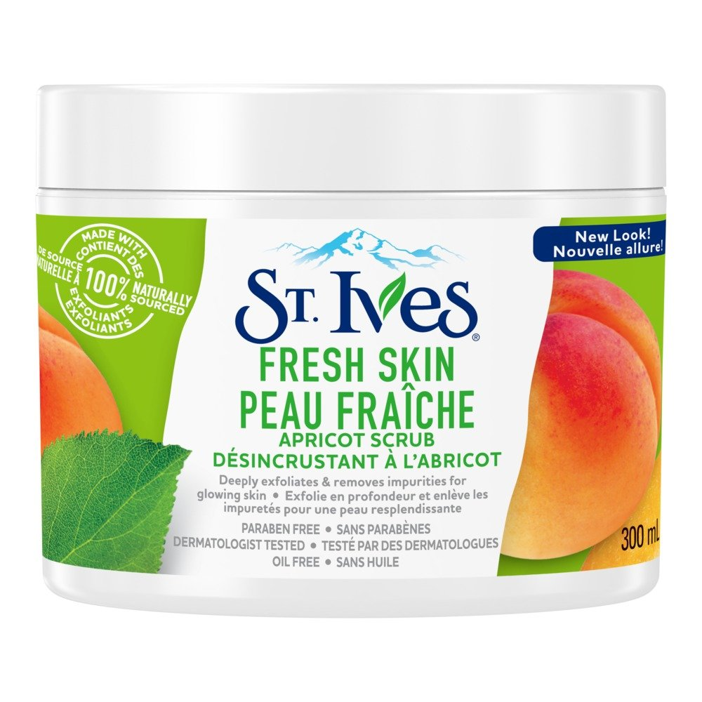 St. Ives Fresh Skin Exfoliating Apricot Facial Scrub 300ml St Ives