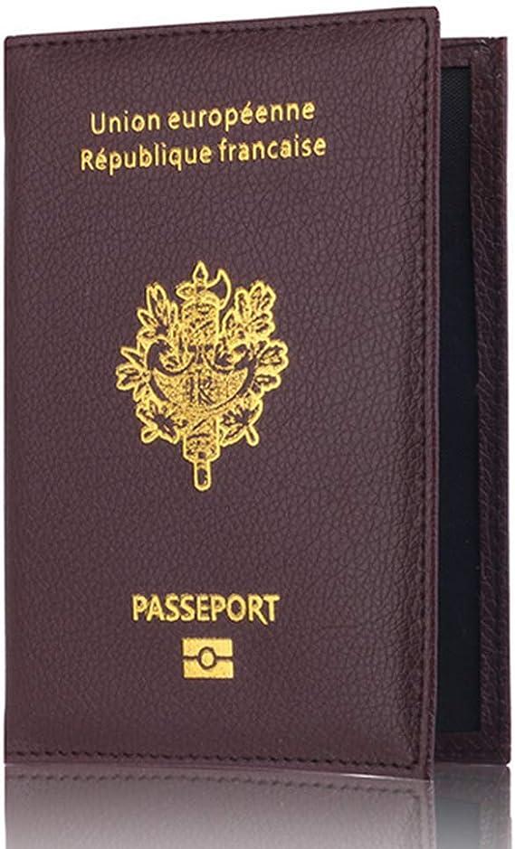 Color/é Marbre Style Passeport Couverture Porte-Passeport Imperm/éable Housse De Voyage Case Passeport Porte-Cartes