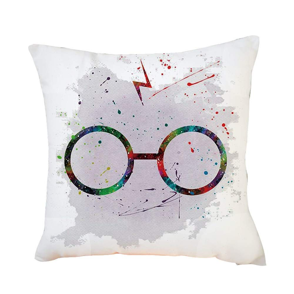 Mlide Harry Potter Color Graffiti Pillowcase Just $4.38 SHIPPED!