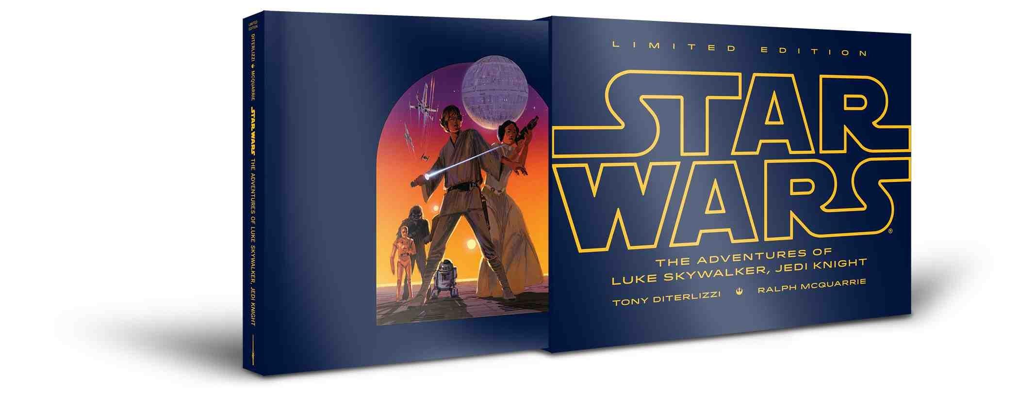 The Adventures Of Luke Skywalker, Jedi Knight (limited Edition) (star  Wars): Tony Diterlizzi, Ralph Mcquarrie: 9781484722794: Amazon: Books
