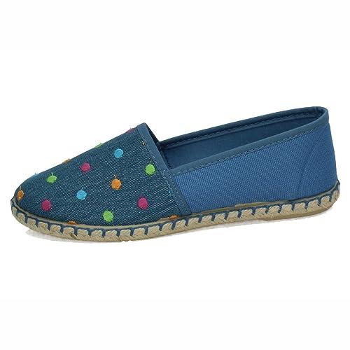 RUIZ BERNAL 112 Zapatillas DE Lona Mujer Alpargatas: Amazon.es: Zapatos y complementos