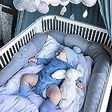 Crib Bumper Comfort Pillow Junior Bed Sleep Bumper Children's Room Decorative Toy