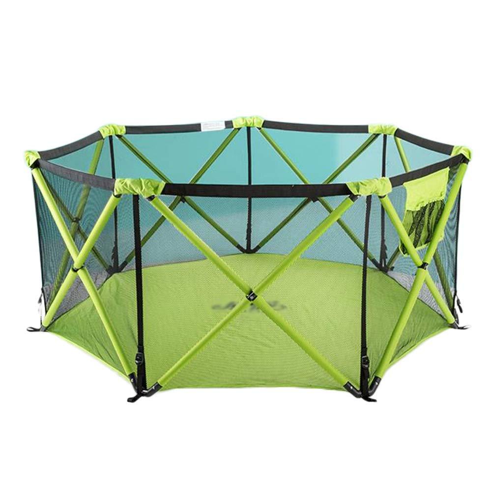 当社の ポータブルベビーベビーサークルキッズアクティビティセンター屋内屋外安全遊び場、高さ68 cm (色 : 緑, サイズ さいず : : サイズ (色 7-sided) 7-sided 緑 B07QSJZWSZ, FEDE SELECT SHOP:0cfdc5ec --- senas.4x4.lt