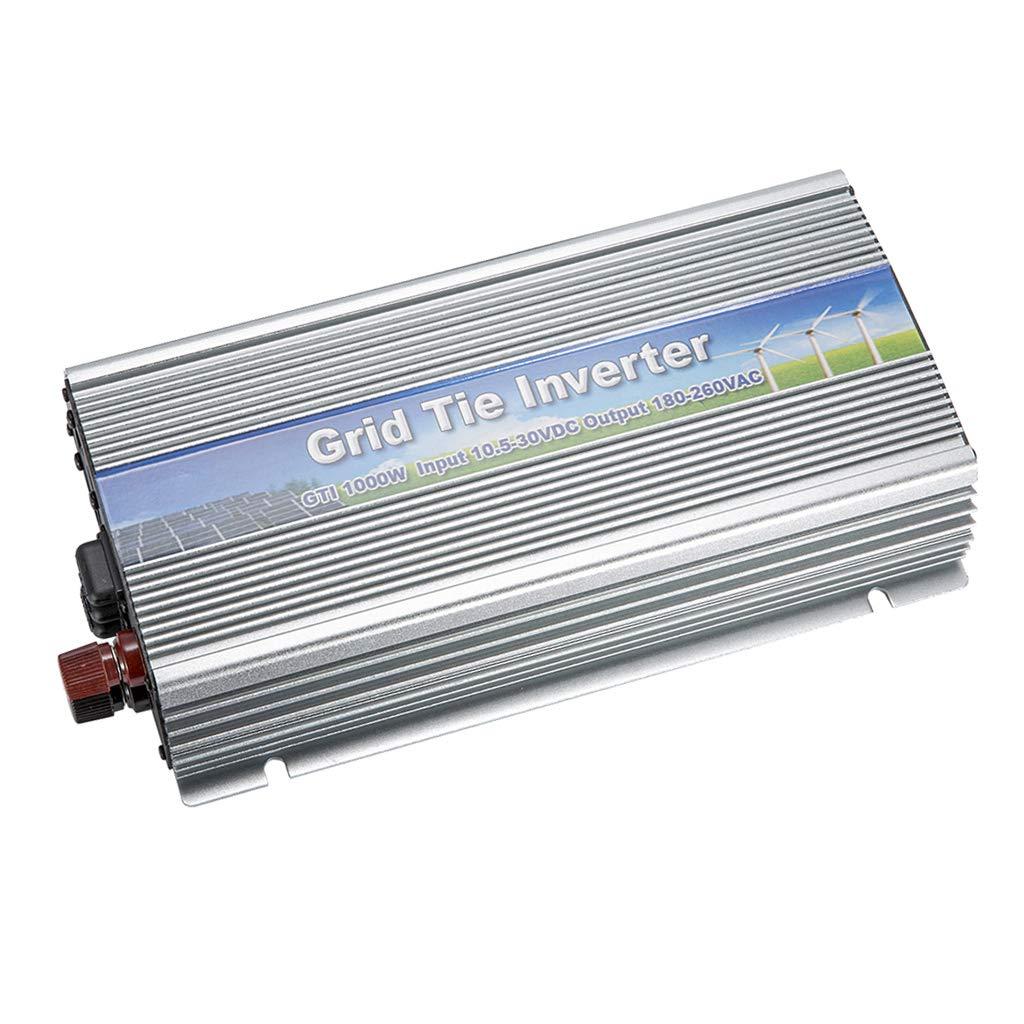 perfk Spannungswandler 1000W Wechselrichter DC10.5-30V AC180-260V MPPT-Funktion Power Inverter Converter