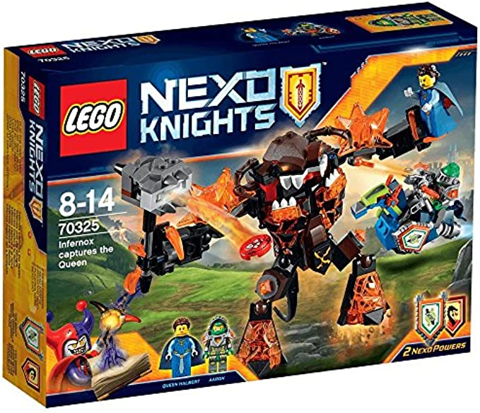 LEGO NexoKnights 70325 Infernox Captures the Queen