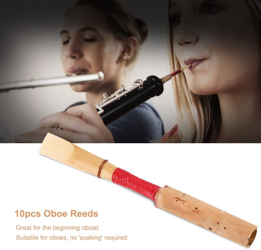 Oboe Reeds Cork Reed Strength Handmade Oboe Reed with Plastic Case