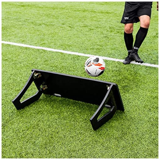 RapidFire Soccer Rebound Board for Passing & Shooting