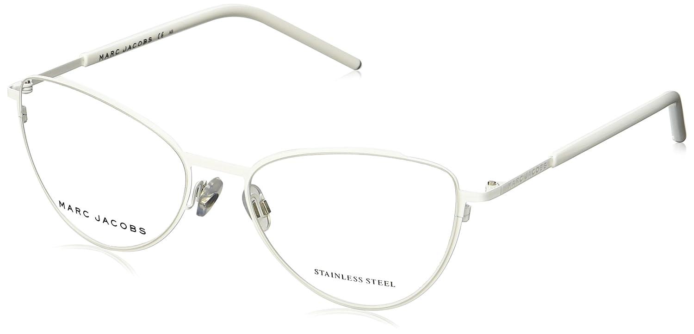 147008b58d Amazon.com  MARC JACOBS Eyeglasses MARC 40 0SJR White 54MM  Clothing