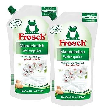 2 x litro de suavizante 1 leche de almendras rana- La preparación con leche de almendras: Amazon.es: Hogar