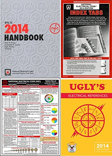 NFPA 70: National Electrical Code, NEC, Handbook, NFPA Package, 2014 Edition by NFPA-B-J