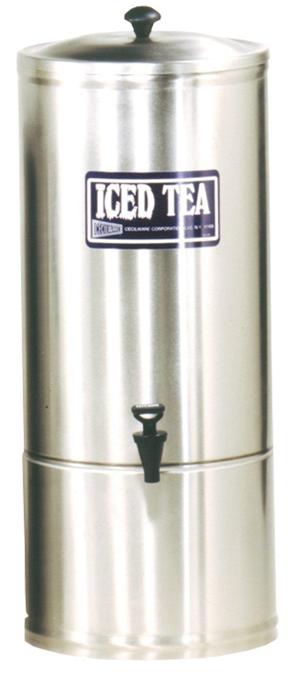 Grindmaster-Cecilware S10 Stainless Steel Iced Tea Dispenser, 10-Gallon