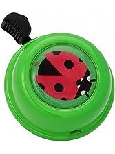 Liix Bike Cycle Bell in Green Ladybird Ladybug Design