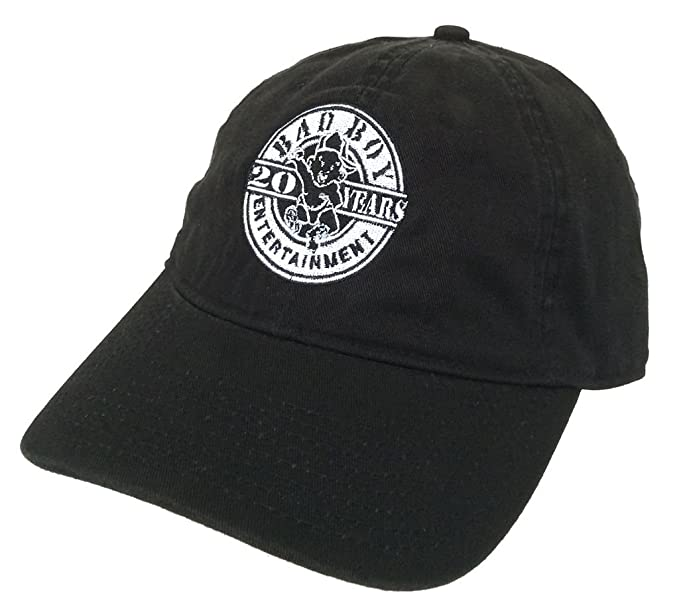 Image Unavailable. Image not available for. Color  Bad Boy Ent. Records 20  Years Black Baseball Hat ... 211cffacad7a