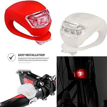 Gusspower Linterna Lámpara para Bicicletas luz Conjunto de ...