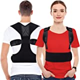MelodySusie Posture Corrector for Men & Women- Back Braces for Spine and Lumbar Support,providing Pain Relief from Neck…