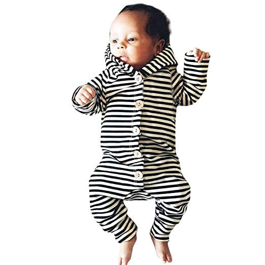 3ecf740a99c9 Amazon.com  Outtop(TM) Baby Boys Girls Romper Jumpsuit Newborn ...