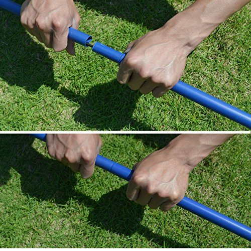 BenefitUSA Portable Training Beach Volleyball Tennis net Badminton with carrying bag by BenefitUSA (Image #6)