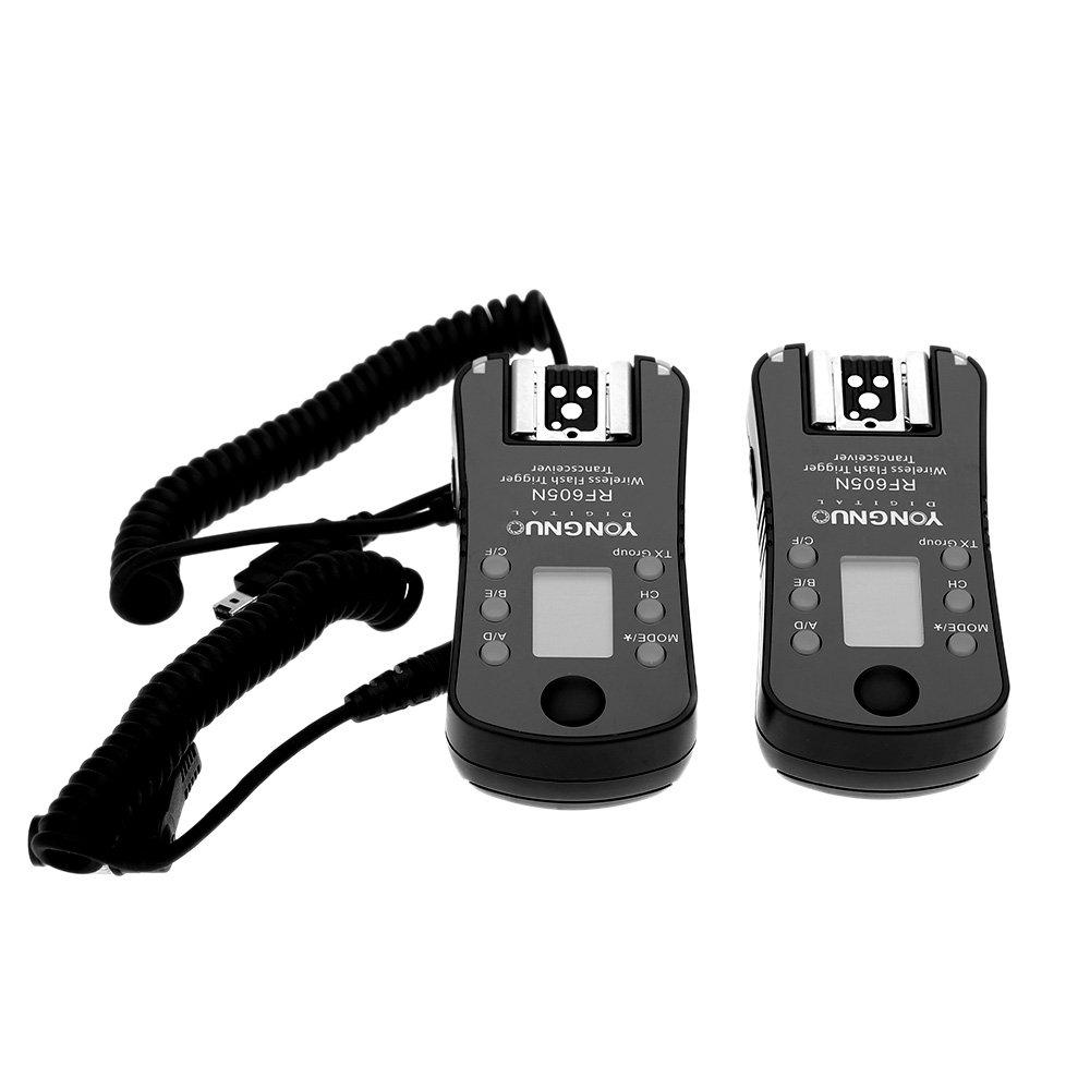 Disparador de flash y disparador inalámbrico, 16 canales, para cámaras Nikon por solo 32€