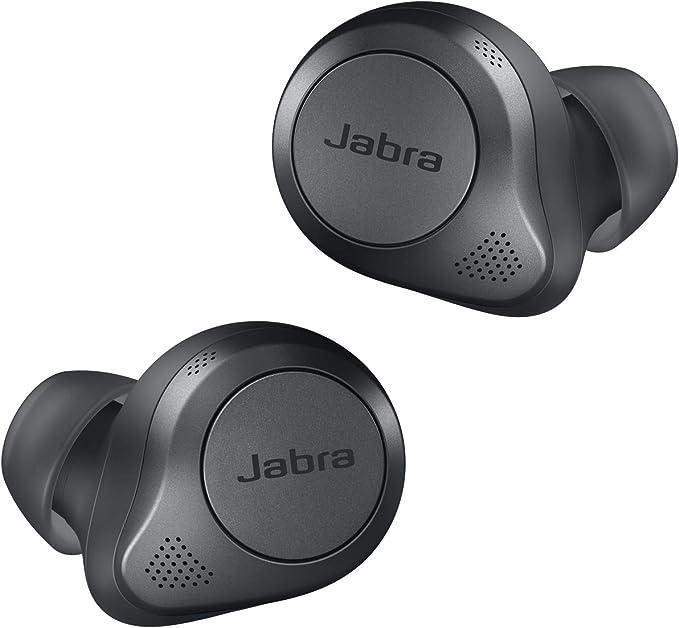 Jabra Elite 85t True Wireless Kopfhörer Jabra Kopfhörer Mit Advanced Active Noise Cancellation Und Kraftvollen Lautsprechern Kabelloses Ladegehäuse Grau Elektronik