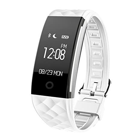 SoloKing T20 Pulsera Inteligente,Bluetooth 4.0 wristband IP67 Impermeable Reloj Fitness,Monitor de ritmo
