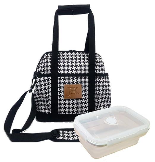 JSK - bolsa para comida térmica, para mujeres, grande ...