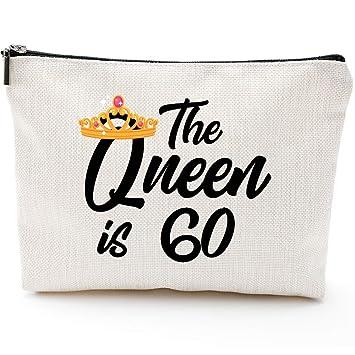 Amazon.com: La reina es un regalo de 60,60 cumpleaños para ...