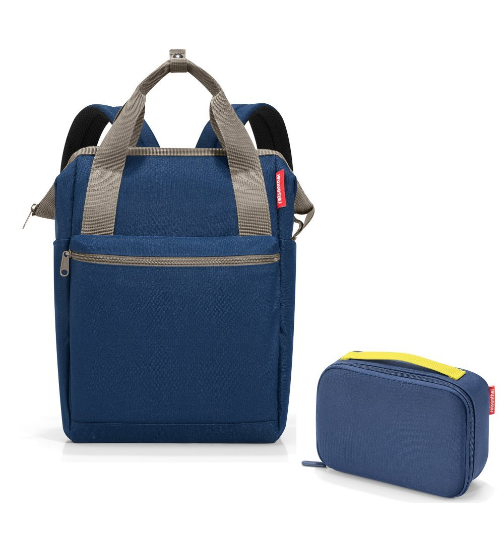 Reisenthel Outdoorset 2tlg. reisenthel Rucksack Backpack allrounder R 13L 13L 13L und Isotasche thermocase im trendigen Design blau mit Punkten (spots navy) B07DFGHF2M Kühltaschen & -boxen 39ddd4
