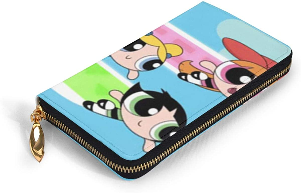 Powerpuff Easy To Carry Leather Wallet Girls Stylish And Personal