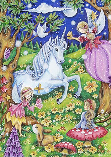 - Toland Home Garden Fairies and Unicorns 28 x 40 Inch Decorative Magical Fantasy House Flag