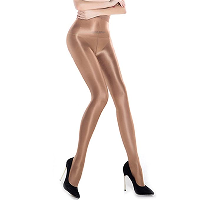 3866a7f872c Phillip Dudley Sexy Women High Waist Shiny Glossy 70D Oil Stocking Club  Dance Highs Tights Shaping