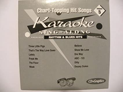 Various - Karaoke Sing-Along: Rhythm & Blues, Volume 5 [CD+G