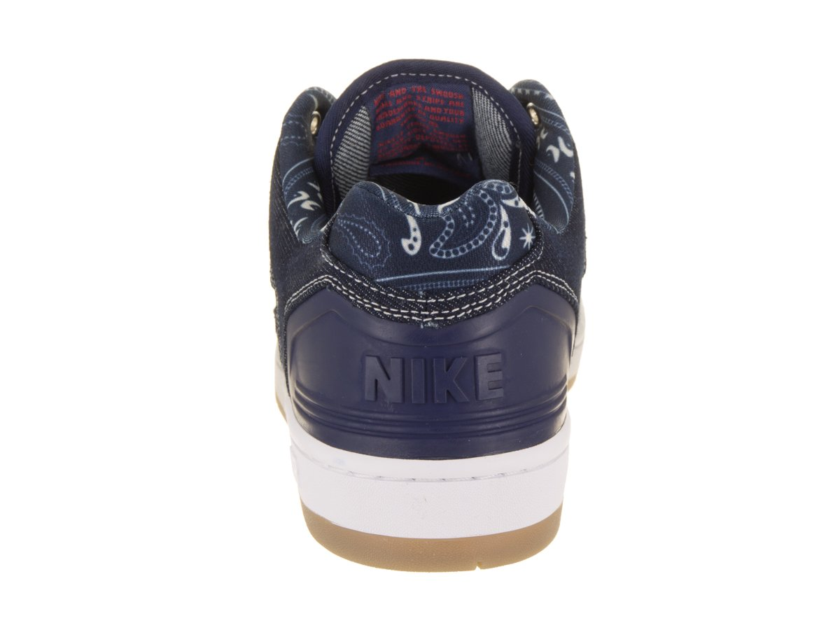 sports shoes 6e13b 1b10d Zapatillas NIKE SB Air Force II Low QS para hombre Binario Azul   Binario  Azul   Blanco