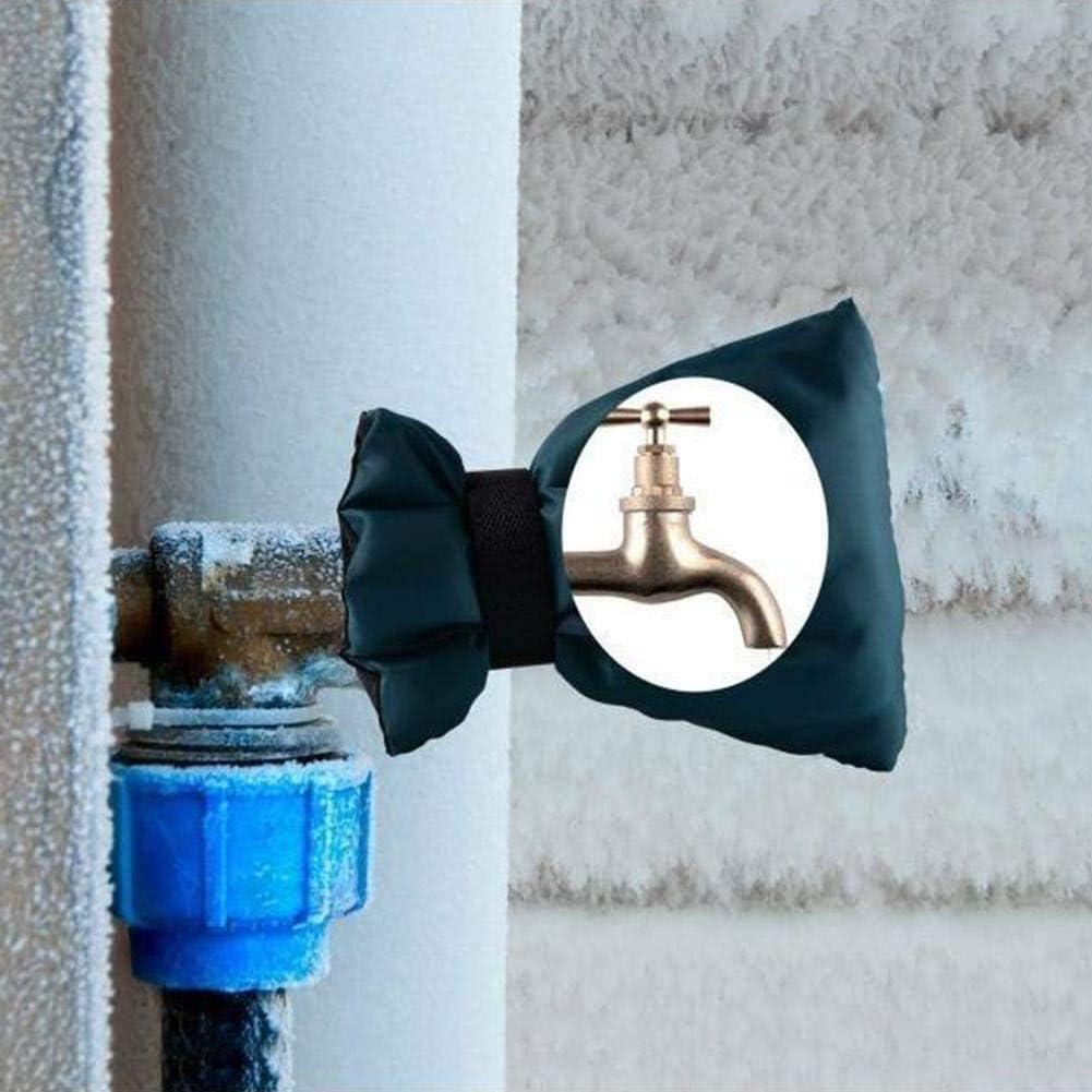 Housse de Protection Robinet Ext/érieur Chaussettes,Oxford Couverture Protection Hiver pour Robinet Antigel D/échirure Vent R/ésistant