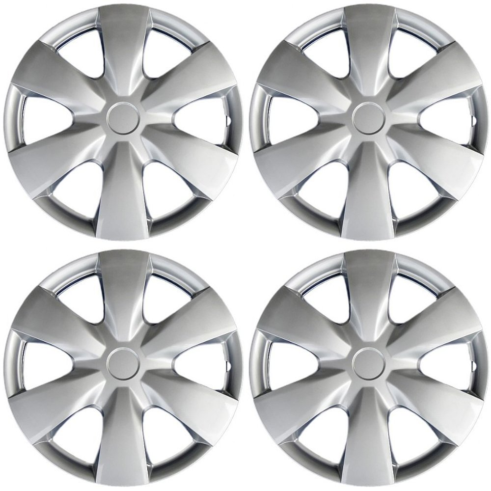 15 inch Hubcaps Best for 2007-2009 Toyota Prius - (Set of 4)
