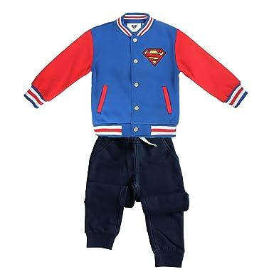 Superman - Chándal - para niño Negro 8-9 Años: Amazon.es: Ropa y ...