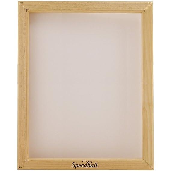 Amazon.com: Speedball 4712 10-Inch-by-14-Inch Screen Printing Frame ...