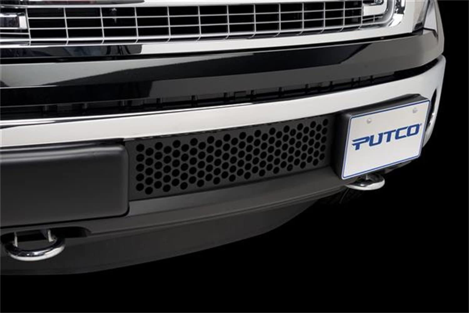 Putco 88182 Punch Stainless Steel Black Grille Insert for Ford EcoBoost