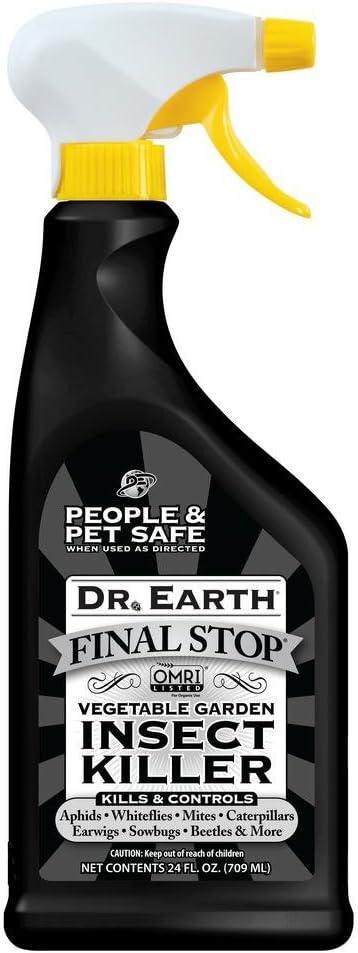 Dr. Earth Pure & Natural Vegetable Garden Insect Killer Spray, 24 oz
