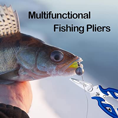 Stainless Steel Fishing Gripper Fish Plier Lip Grabber Grip Hook Remover