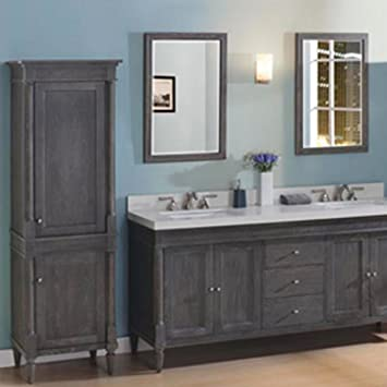 spectacular fairmont designs rustic chic vanity. Fairmont Designs 143 V7221D Rustic Chic 72 quot  Double Bowl Transitional Vanity in Silvered Oak
